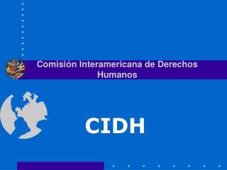 Comisi �n Interamericana de Derechos Humanos