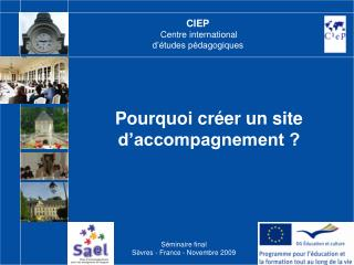 CIEP Centre international  d��tudes p�dagogiques