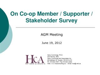AGM Meeting June 19, 2012