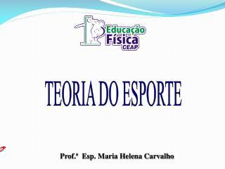 TEORIA DO ESPORTE