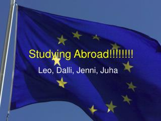 Studying Abroad!!!!!!!!