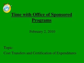 Principal Investigator Transfers