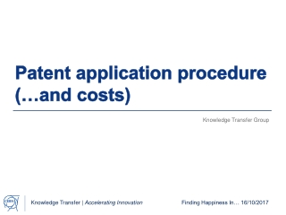 Basics of the European Patent Convention