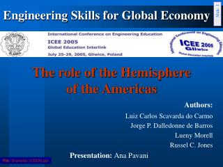 The role of the Hemisphere  of the Americas