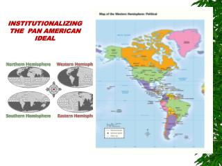 INSTITUTIONALIZING THE  PAN AMERICAN IDEAL