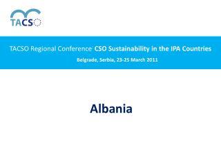 Belgrade, Serbia, 23-25 March 2011