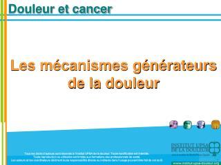 Douleur et cancer