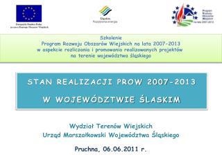 Szkolenie Program Rozwoju Obszarów Wiejskich na lata 2007-2013