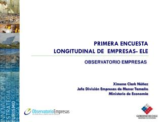 PRIMERA ENCUESTA  LONGITUDINAL DE  EMPRESAS- ELE