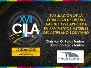 Christian O. Rojas Torrico Orlando Rojas Torrico