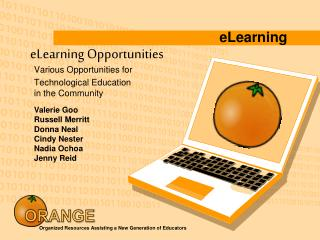 eLearning Opportunities
