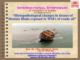 Prin. Dr. (Mrs.) Snehal S. Donde. MSc, PhD, PGDEM, MBA