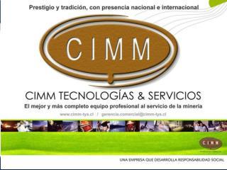 CPHS - CIMM T&S EN FAENA CERRO COLORADO