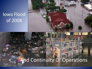 Iowa Flood of 2008