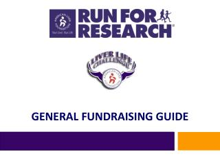 GENERAL FUNDRAISING GUIDE
