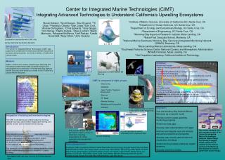 1 Institute of Marine Science, University of California (UC) Santa Cruz, CA