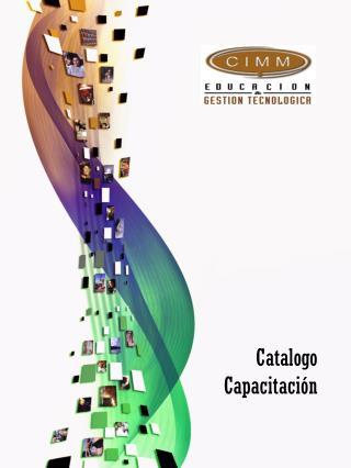 Catalogo    Capacitación