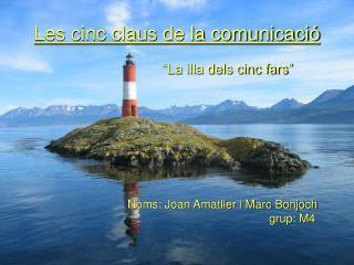 Les cinc claus de la comunicació