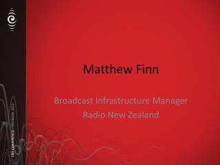 Matthew Finn
