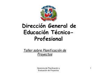 Dirección General de Educación Técnico-Profesional