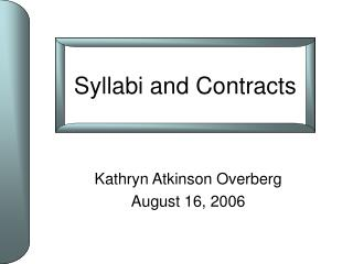 Kathryn Atkinson Overberg August 16, 2006