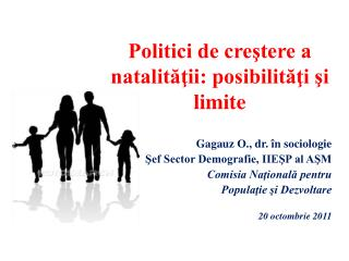 Politici de creştere a natalităţii: posibilităţi şi limite