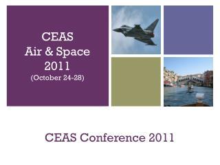CEAS Conference 2011