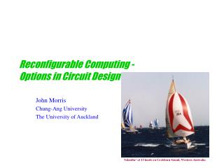 Reconfigurable Computing - Options in Circuit Design