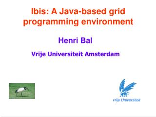 Ibis: A Java-based grid programming environment