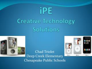 IPE  Creative Technology Solutions