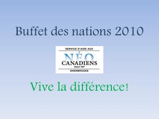 Buffet des nations 2010