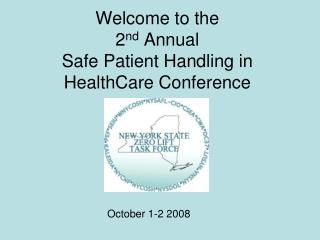 NYS Labor Department s Role in Safe Patient Handling