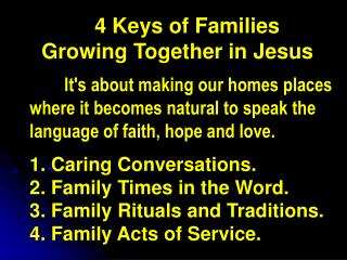 Practical Ways of Having Family Times in the Word  (or