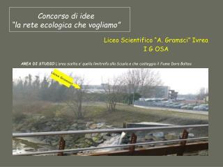 """Concorso di idee """"la rete ecologica che vogliamo"""""""