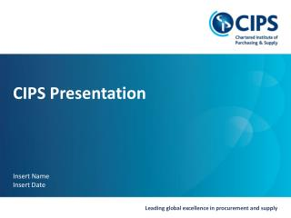 CIPS Presentation