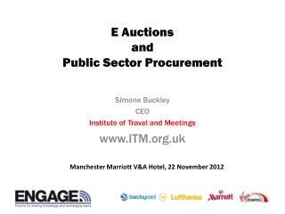 E Auctions  and  Public Sector Procurement