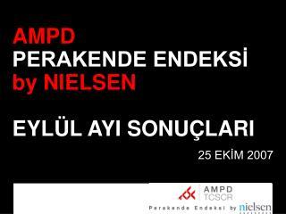 AMPD  PERAKENDE ENDEKSİ by NIELSEN EYLÜL AYI SONUÇLARI