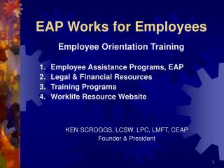 EAP Works for Employees