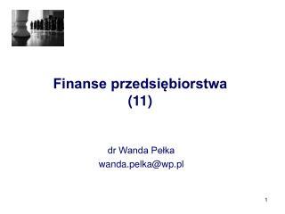 Finanse przedsiębiorstwa (11)