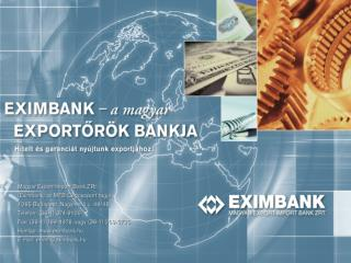 A kis- és középvállalkozások exportjának finanszírozási lehetőségei