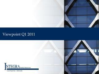Viewpoint Q1 2011