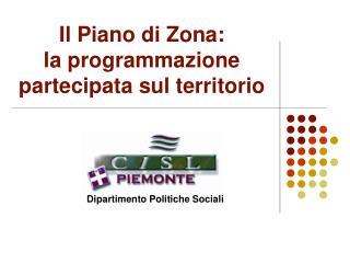Il Piano di Zona: la programmazione partecipata sul territorio