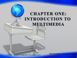CGMB113: MULTIMEDIA TECHNOLOGY