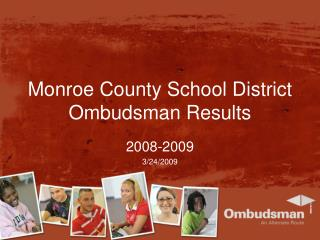 Monroe County School District Ombudsman Results