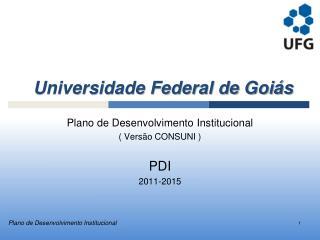 Universidade Federal de Goiás