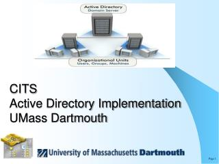 CITS  Active Directory Implementation UMass Dartmouth