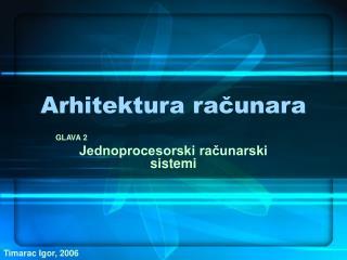 Arhitektura računara