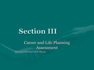 Section III