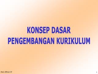 KONSEP DASAR