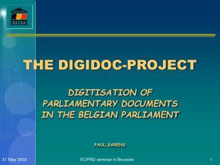 P.O.D. -  DIGIDOC-PROJECT